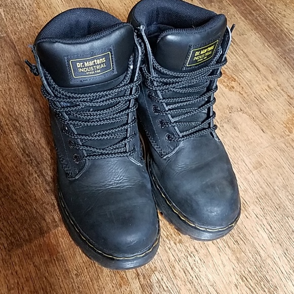 c36d18e053b Dr. Martens steel toe safety boot